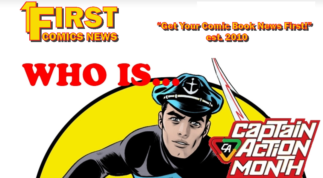 DOUBLE SHOT — Captain Action Month spreads to First Comics News!