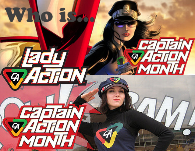 Lady Action Spotlighted at First Comics News!
