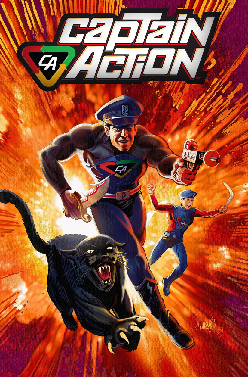 First Comics News –Nice Review– Captain Action #2