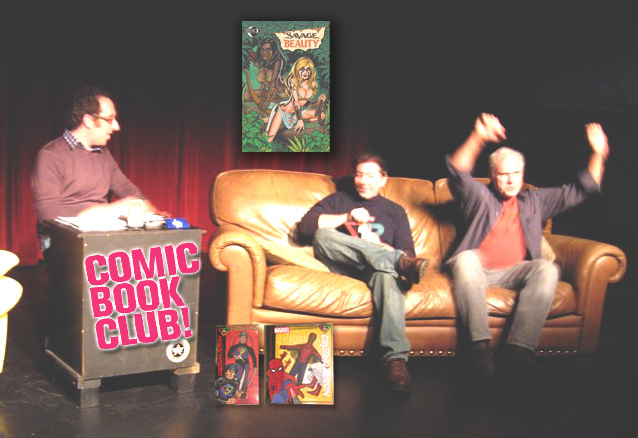 Photos from Comic Book Club Live!