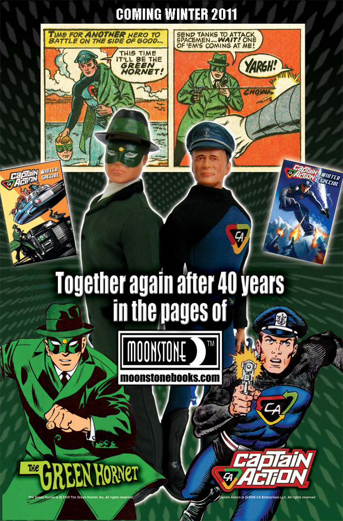 Captain Action Meets the Green Hornet!