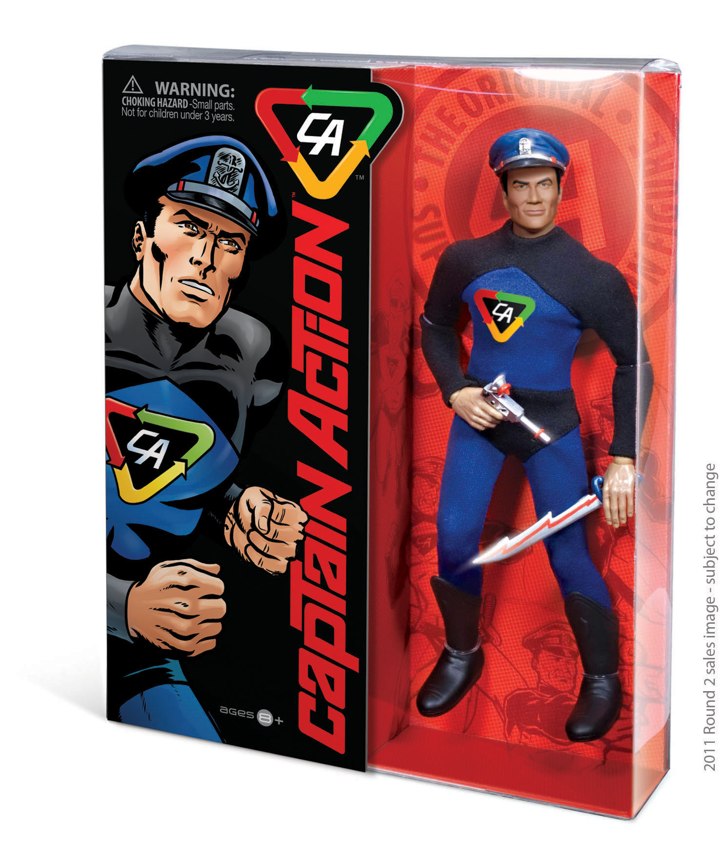 Official Press release – Captain Action and Round 2 Announce Toy Line