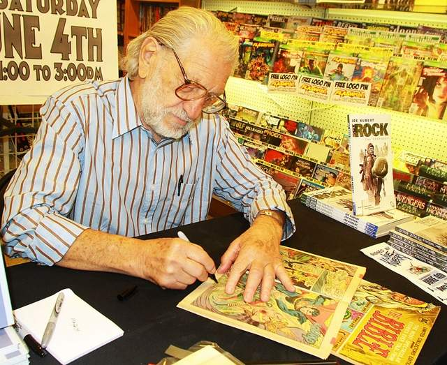 Legendary Joe Kubert in Madison, NJ