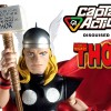 Captain Action as the Mighty Thor!  Official Press Release