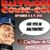 Captain Action Blasts Off to Baltimore Comic Con!
