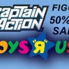Captain Action Figures on Sale now at ToysRUs!