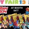 Captain Action at Toy Fair!