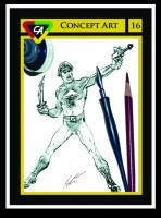 Infantino Rough for Playing Mantis Packaging as depicted on CA Trading Card