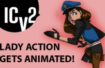 ICV2 Breaks Lady Action as part of the CA Animated Series!