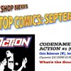 Codename: Action Spotlighted in Comic Shop News!