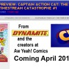 Comic Book Resources Previews Captain Action Cat #1