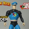 CAPTAIN ACTION HEADS AMAZING HEROES FIGURE LINE FROM FRESH MONKEY FICTION!