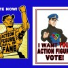 Vote Captain Action into the Action Figure Hall of Fame!