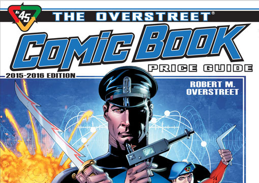 overstreet comic book price guide 45